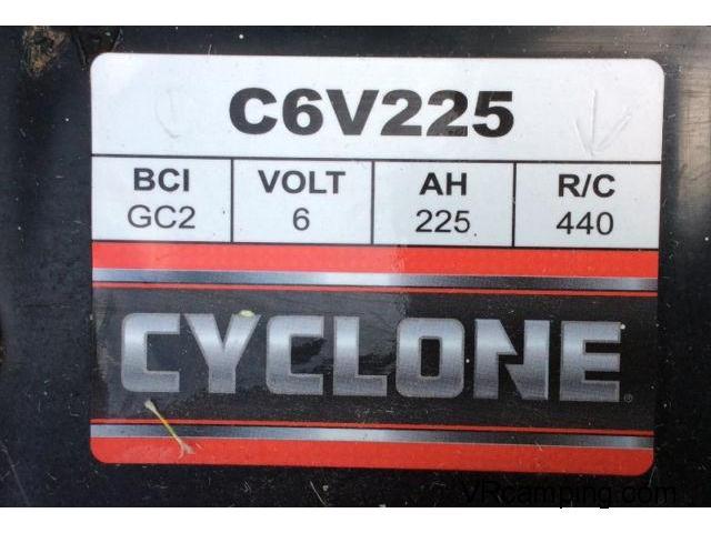 système de batteries 6 volts