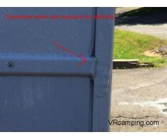 Véhicule Récréatif Unité mobile de détection d'infiltration d'eau