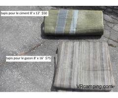 Objets pour camping