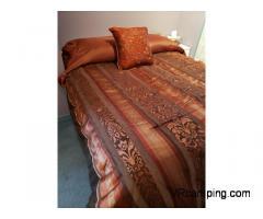 Couvre-lit, coussin et rideaux pour Motorise/Fifthwheel