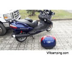 Moto Suzuki Burgman 650cc