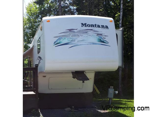 roulotte fift wheel montana